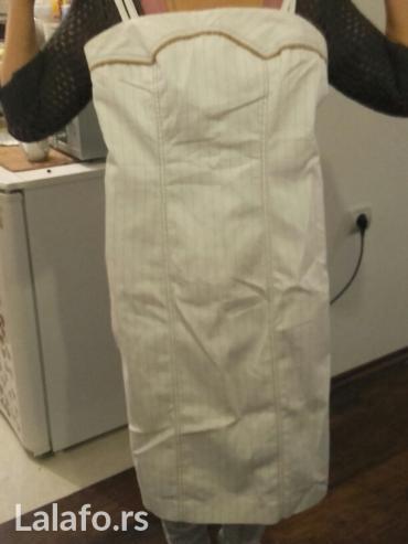 Haljina bele boje, broj 38... Roba iz austrij - Velika Plana