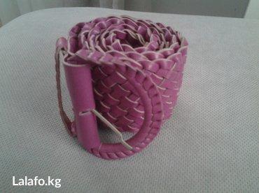 Ремень новый. плетенка. можно на талию в Бишкек