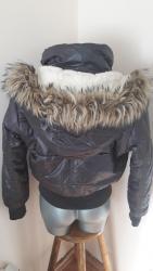 Anatomski ranac - Kraljevo: Topla,zimska strukirana jakna vel.M Sirina u ramenima od stepa do step