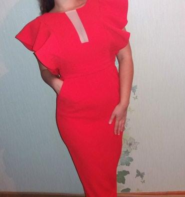 На прокат или продажу.  Платье в пол , размер 38-40 в Бишкек