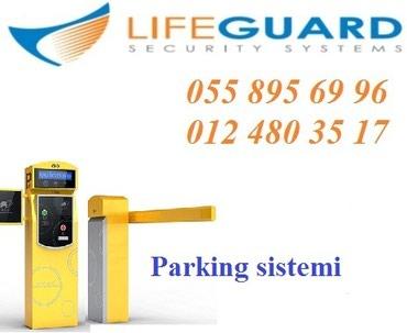 Bakı şəhərində Parking sisteminin satisi ve qurasdirilmasi