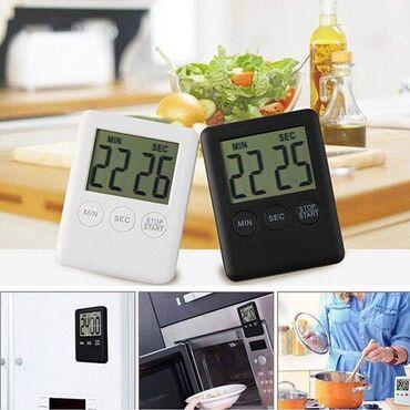 Magnet - Srbija: Cena 670 din-Digitalni kuhinjski tajmer sa magnetomCrna, bela, roze