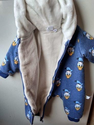 Новый комбинезон для новорожденных , теплый. размер от0до3 в Бишкек