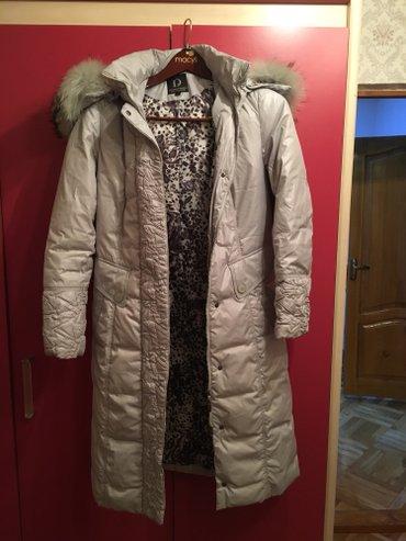 Женское пальто парка-пуховик, 46-48 размера, состояние нового в Бишкек
