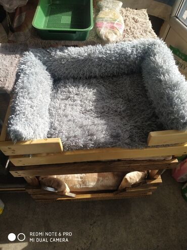 Зоотовары - Кыргызстан: Шикарный лежак для кошек и небольших собак. Подойдёт под любой
