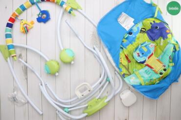 Другие товары для детей - Украина: Дитячий шезлонг Bright Starts    Матеріал: 100% поліестер  Стан дуже г