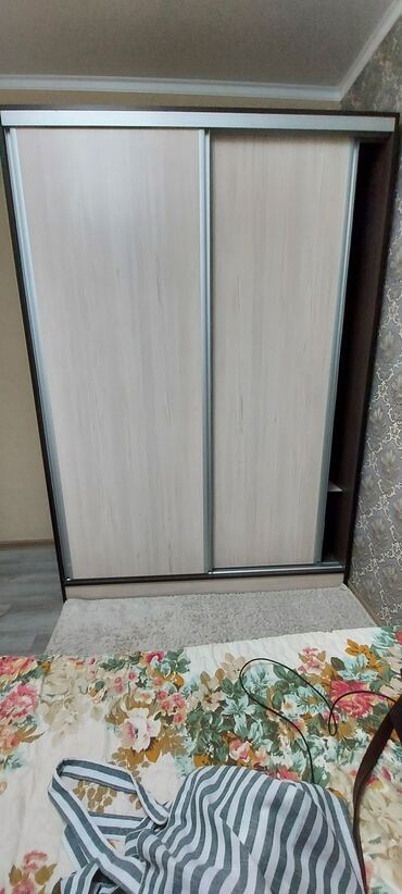Шкаф купе,очень вместительный и стильный. Глубина 60,ширина 150,высот