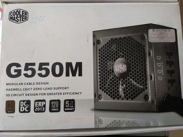 Электроника - Кыргызстан: Продаю блок питания. В идеальном состоянии. Cooler Master G550M550w