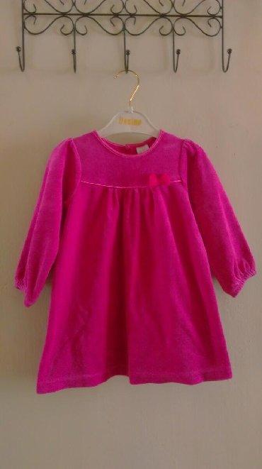 детские платья из велюра в Кыргызстан: Продаю детское велюровое платье H&M(оригинал), на возраст 12-18