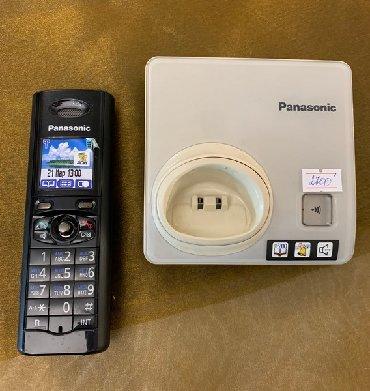 Батарейки-на-телефон - Кыргызстан: KX-TG8205RU - беспроводной телефон Panasonic DECT с цветным