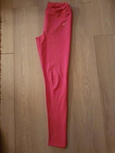 Nike-helanke - Srbija: Helanke,roze boje M velicina moze i za L,bez ostecenja,par puta