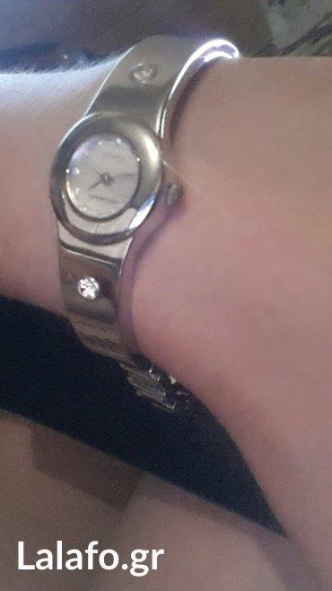 Ασημένιο ρολόι με διαμαντακια σε Laurium
