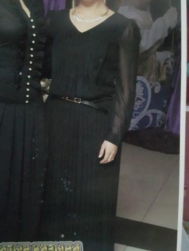 длинные шифоновые платья с рукавами в Кыргызстан: Вечернее, шифоновое длинное платье! w/a 3000сом размер 44-46