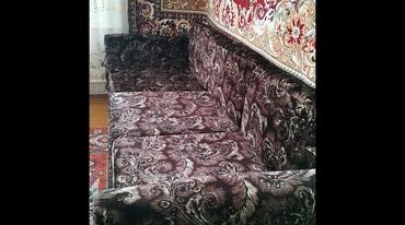 вязанные наволочки на диванные подушки в Кыргызстан: Продается хороший раздвижной диван,все подушки съёмные,места для двоих