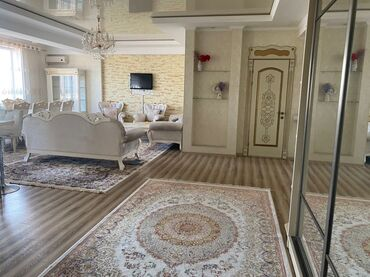 аренда квартир на долгий срок в Кыргызстан: Сдается квартира: 3 комнаты, 112 кв. м, Бишкек