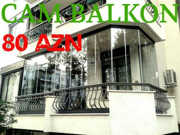 Bakı şəhərində Cam Balkon Dus Kabin Sifaris Vere Bilersiz  Elave Pvc Ne Aid Isler Gor