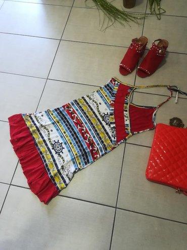 Divna haljina super mekani pamuk elastin vel S MPovoljnoSuper model i