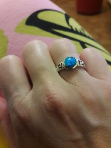 Ostalo   Loznica: Srebrni prsten nov