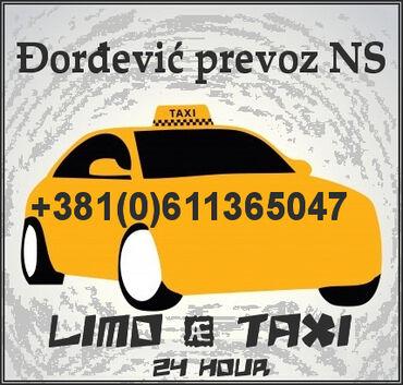 Taxi Novi Sad - Šimanovci,Privatni najam/zakup vozila sa vozačem (do 4