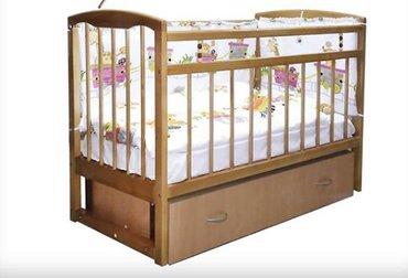 Кроватка детская с маятником. в Бишкек