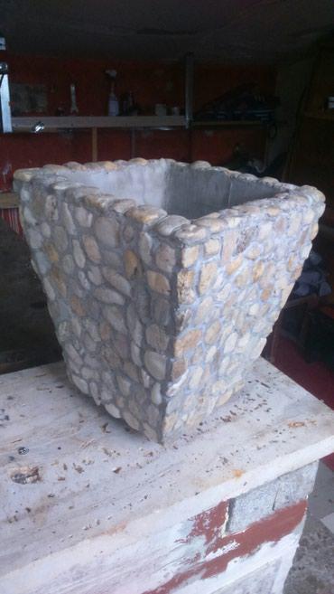 Zandinjera od prirodnog kamena,ručni rad, 30x30x50cm - Kraljevo