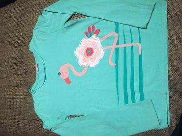 Duka - Beograd: Majica za devojčice sa dugim rukavima sa flamingom. Francuskog brenda