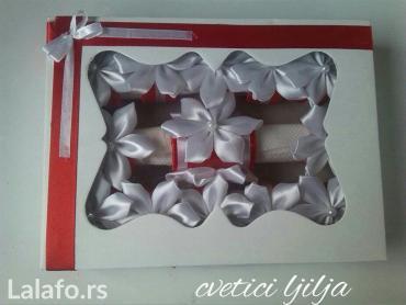 Komplet od 12 prstenova za salvete i ukras  za svecu    - Loznica - slika 4