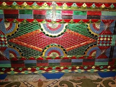 Шикарный сундук - Кыргызстан: Кованный большой сундук из дерева