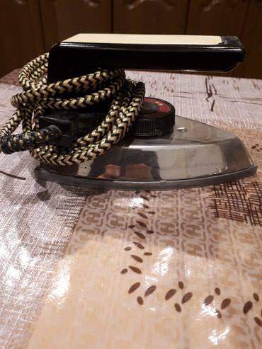 Bakı şəhərində Rassiyyanın mini  ağır ütüsü işleyir hec bir problemi yoxdur