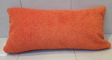 Μαξιλαράκι μπάνιου πετσετέ πορτοκαλί 40 x 18 εκατ. ( αχρησιμοποίητο )