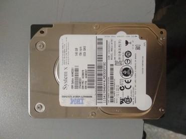 серверы 13 в Кыргызстан: Продаю новый SASовский жёсткие диски 2 штук 146 гб для серверов