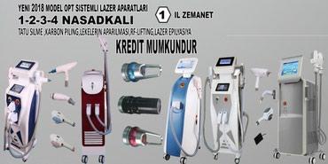 Bakı şəhərində LAZER EPILYASIYA APARATı aleksandrit satılır (her satilan