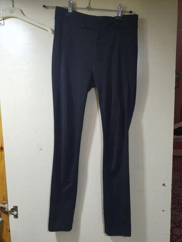 женские-черные-брюки в Азербайджан: Штаны тёплые, одевались несколько раз