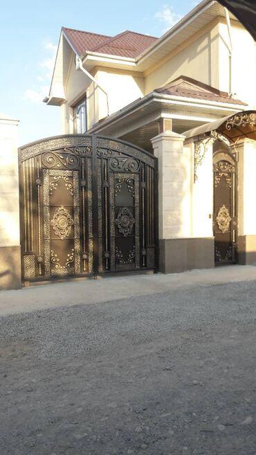 ВОРОТАВорота простые Ворота кованые Ворота на любой вкус и дизайн