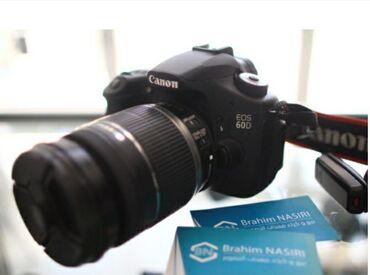 фотоаппарат-60d в Кыргызстан: Продаётся фотоаппарат canon 60d с объективом canon 18-200. В комплекте