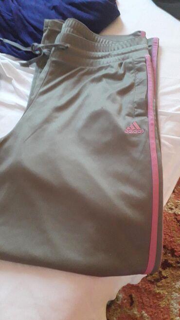 Adidas donji deo trenerke - Srbija: Adidas trenerka donji deo . kao nova. br l