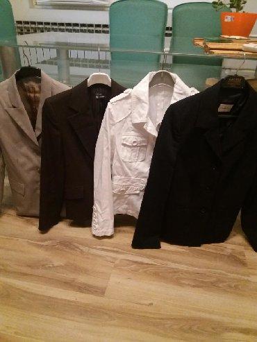Ženska odeća   Bor: RASPRODAJA. PAKET od 4 blejzera samo 1200 din.NOVO ( Zara