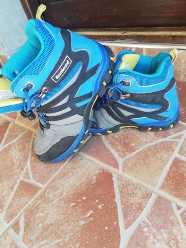 Dečije Cipele i Čizme - Varvarin: Eastbound zimske cipele za decaka br34 unut. gaz 20cm nepropustljive