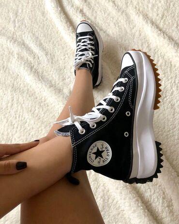 Мужская обувь - Кыргызстан: Converse Run Star Hike черные  ▪︎36-40 размеры  •бесплатная доставка п