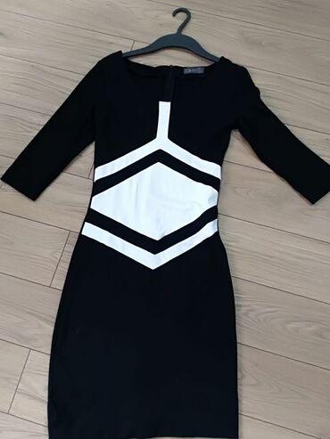 Cameleon haljina, nova, velicina M,3/4 rukavi, materijal pamuk sa