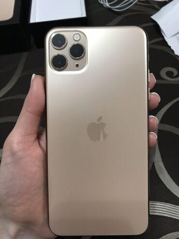 Apple Iphone - Состояние: Б/У - Бишкек: Б/У IPhone 11 Pro Max 64 ГБ Золотой