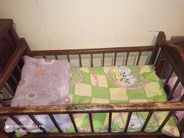 Дом и сад - Дюбенди: Təmiz qoz ağacından hazırlanmış uşaq yatağı 50azn