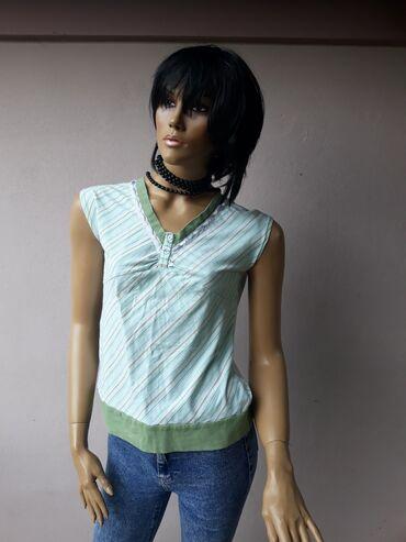 Ženska odeća | Prokuplje: Pamucna majica kao nova bez ikakvih ostecenja Veličina M/L.Pamuk sa