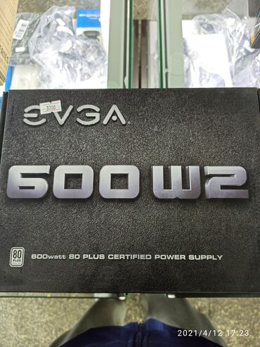 Блок питания EVGA 600W2. Новый оригинал