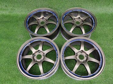 купить диски для машины в Кыргызстан: В продаже крутые Японские диски фирмы Weds Диаметр R17Сверловка