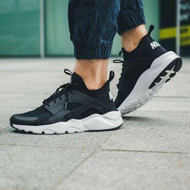 спортивная мужская обувь в Кыргызстан: Nike Air huarache ▪︎36-44 размеры Топовая реплика  •бесплатная доставк