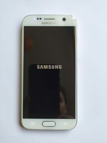 Samsung galaxy s7 duos - Азербайджан: Б/у Samsung Galaxy S7 32 ГБ Белый