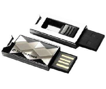 2-гб-флешка-цена в Кыргызстан: Флешка Silicon Power 4GB Touch 850