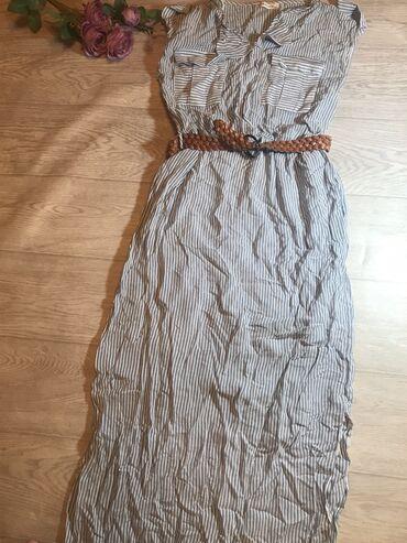 хб платье в Кыргызстан: Турецкое ХБ летнее платье 🥻 Всего один раз носила, размер был маловат