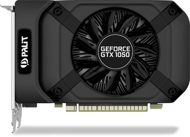 Palit GeForce GTX 1050 ti 4gb StormX в Бишкек
